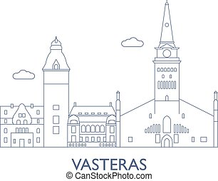 Vasteras, The most famous buildings of the city - Vasteras,...