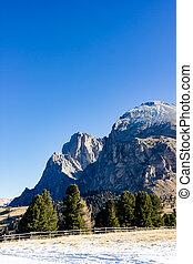 Mountain views of Alpe di Siusi
