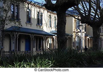 Symonds Street Merchant Houses. Built in 1884-85 in the...