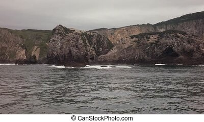 South-eastern coast of Kamchatka peninsula is washed by...