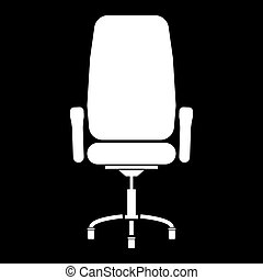 Office chair icon .