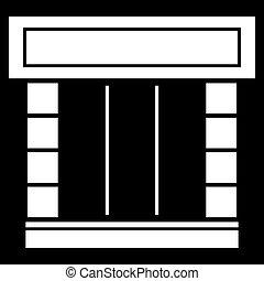 Shopfront icon .