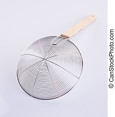 Strainer or Chinese Strainer Used In The kitchen. - Strainer...