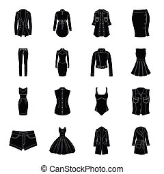 Dress, sarafan, coats of women's clothing. Women's clothing...