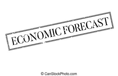 Economic Forecast rubber stamp