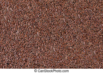 Flax seeds background, popular dietary product for a healthy...