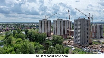 Construction of High-Rise New Residential Buildings