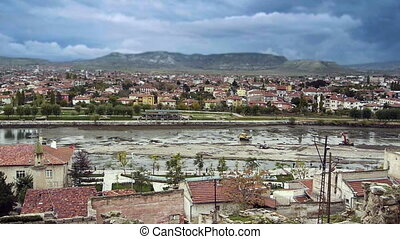 Ordinary turkish anatolian town Turkey 2