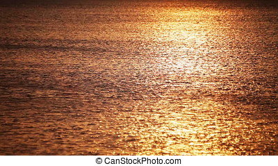 Sunset Ripples Motion Background - Sunset ripples motion...