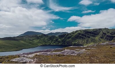Barley Lake, County Kerry, Ireland - Pan