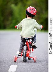seguro, El montar en bicicleta