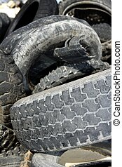 vehicle tyres recycle ecological factory waste environment...