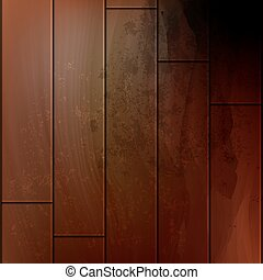 Vector wooden background with place for your text