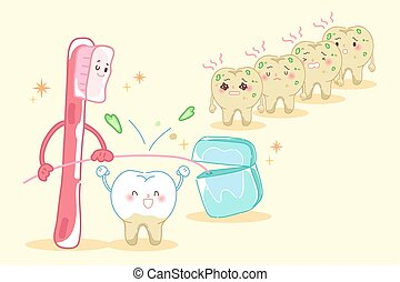 tooth health concept