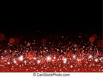 Vector christmas background concept design of red gitter and...