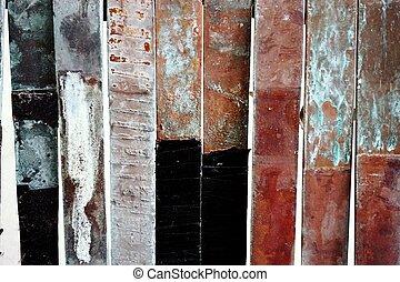 corrosion copper flat