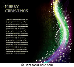 Christmas abstract shine background Vector - Christmas or...