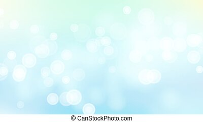 Abstract Summer Sea Nature Background Vector. Blurred Warm...