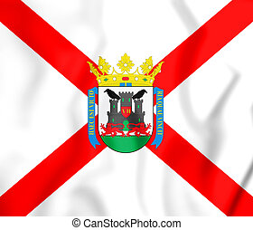 Flag_of_Vitoria - 3D Flag of Vitoria-Gasteiz (Basque...