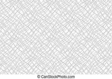 Confusing lines watermark abstract seamless pattern. Vector...