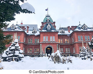 Former Hokkaido Government Office in Sapporo. - Former...