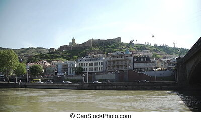 Tbilisi the Narikala fortress and fast cable cars - The...