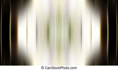 Non looping animated abstract center focused streak blur background