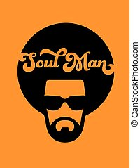Soul Man Retro Illustration