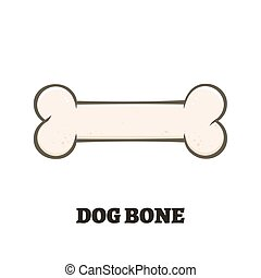 Dog Bone Cartoon Drawing