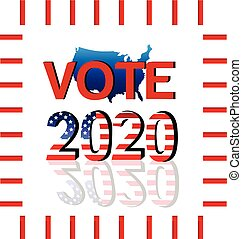 Vote 2020 USA Map