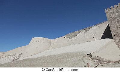 Uzbekistan. Khiva. Ancient city wall. - Uzbekistan Khiva...