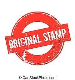 Original Stamp rubber stamp. Grunge design with dust...