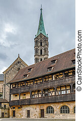 The old palace (Alte Hofhaltung), Bamberg, Germany - The old...