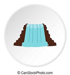 Niagara Falls, Ontario, Canada icon circle