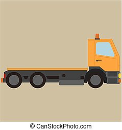 Tow truck, for breakdown vehicle