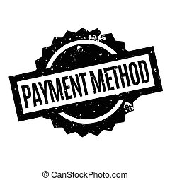 Payment Method rubber stamp