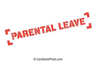 Parental Leave rubber stamp