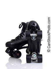 bottom of mens quad roller skates