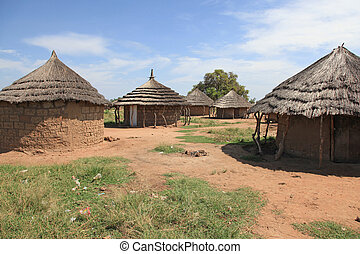 Aketa Camp Village, Uganda, Africa - Aketa Camp Village in...