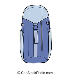 Backpack - Hiking backpack for travel and mountain climbing
