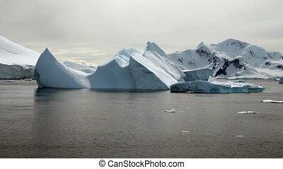 Icebergs in Antarctica Peninsula