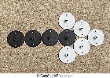 Round metal billets