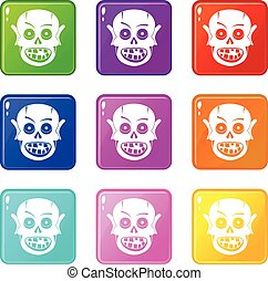 Living dead icons 9 set