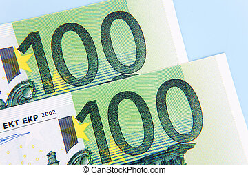 note,  euro,  100, due