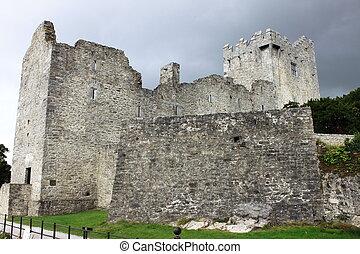 Ross Castle in Ireland - Ross Castle in Killarney National...
