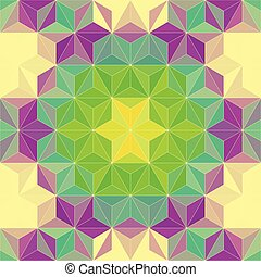 21 - Vector Abstract Mosaic Pattern or Background