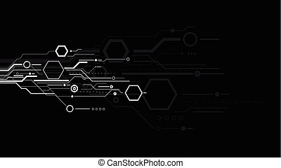 Abstract science and technology background