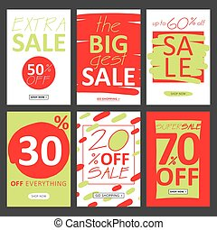 red-green posters sale.eps
