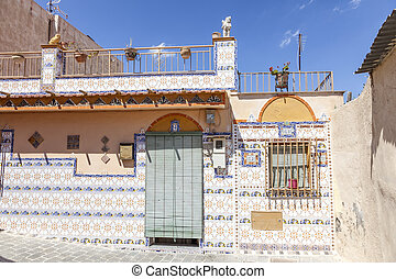 Old house in Lorca, Spain - Traditional residential house...