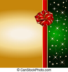 christmas present background - Illustration of a christmas...